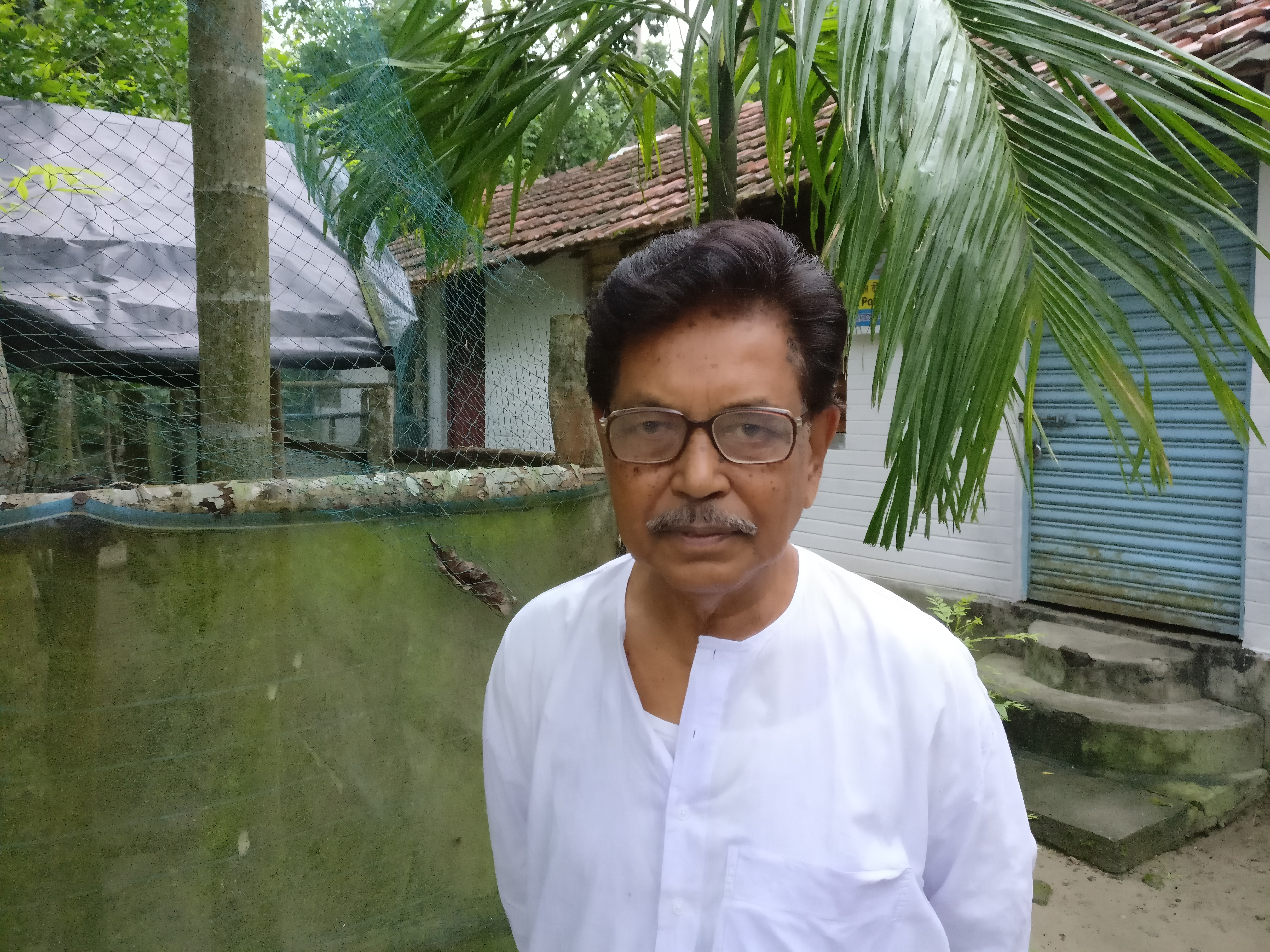 Nanda Dulal Mohanto, president of the Matua Mahasangha is seeing increasing support for the BJP in the Matua community.