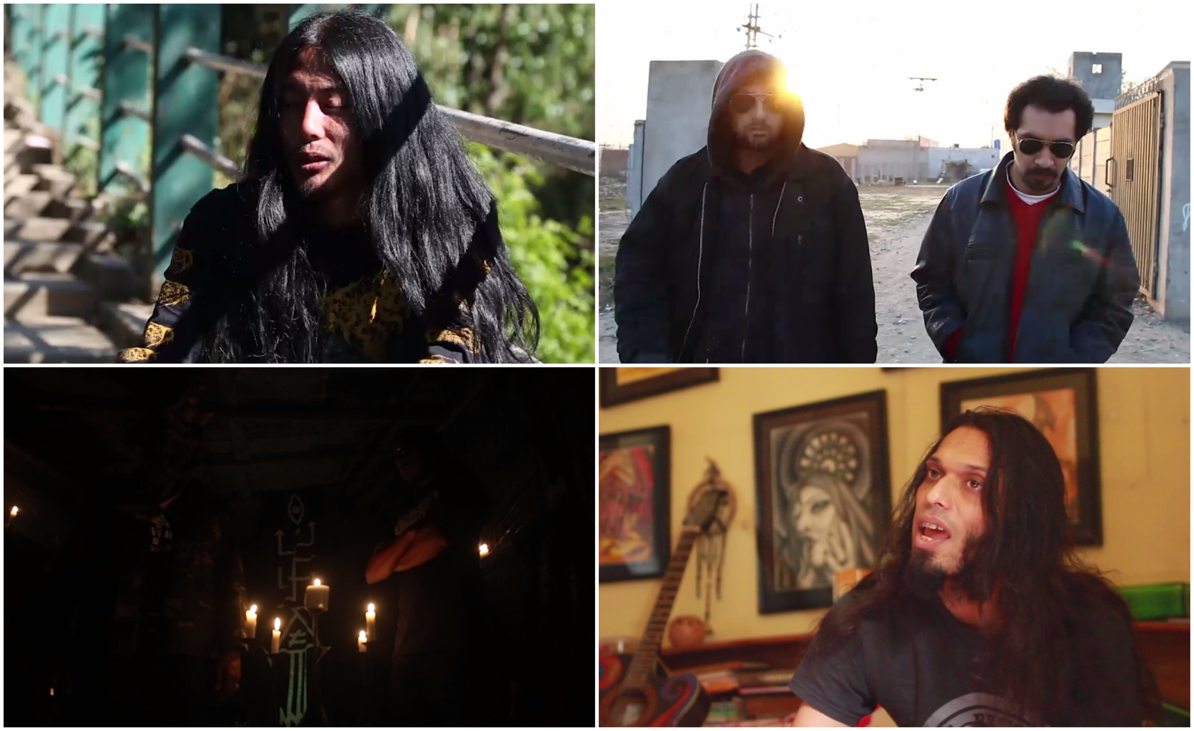 Stills from 'Extreme Nation' (work-in-progress). Image credit: Royville Productions.