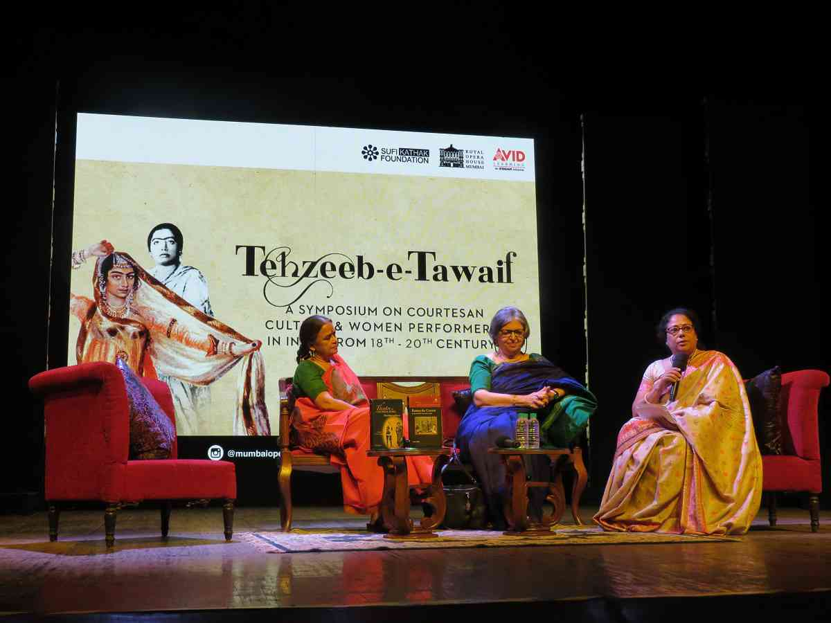 The Tehzeeb-e-Tawaif symposium at the Royal Opera House in Mumbai.