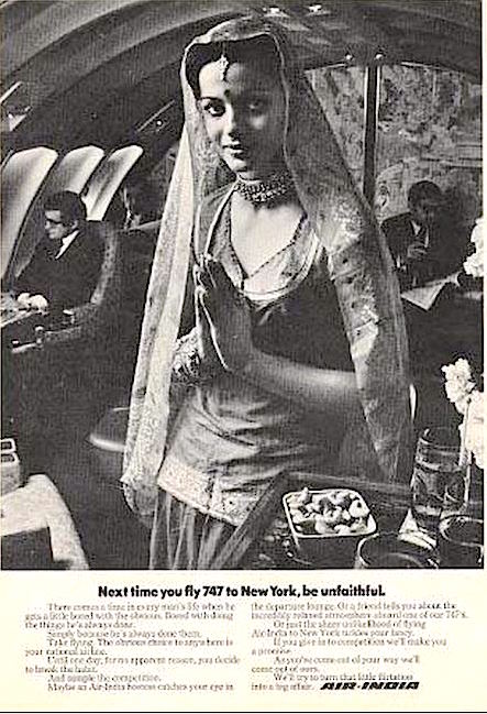 An Air India advertisement