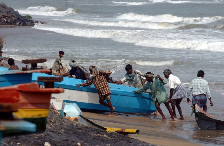 The latest amendment to India's coastal law will likely take a toll on coastal ecology and livelihoods. (Credit: Dibyangshu Sarkar / AFP)