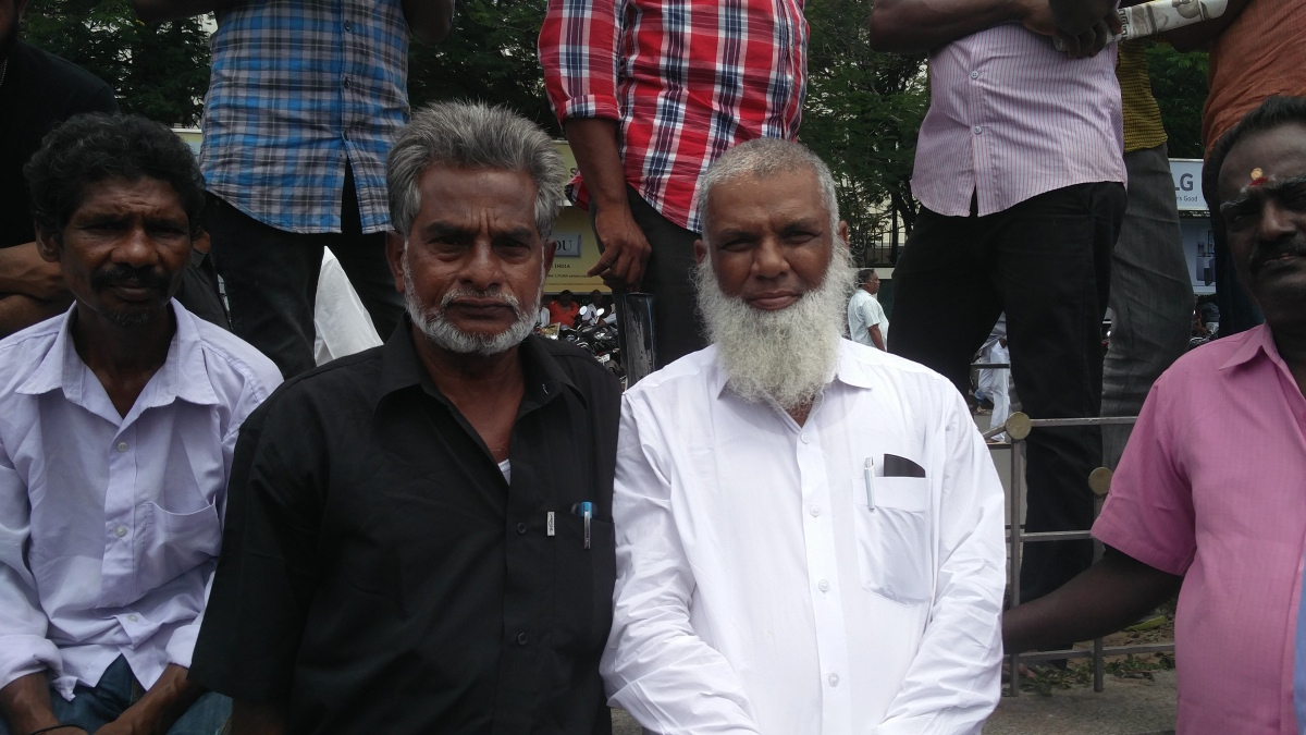 Kotai Abu and Ismail from Coimbatore. (Photo credit: Vinita Govindarajan).