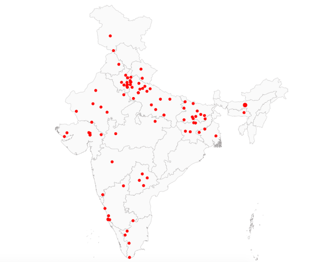 In 2018, India had the most religious hate crimes in a
