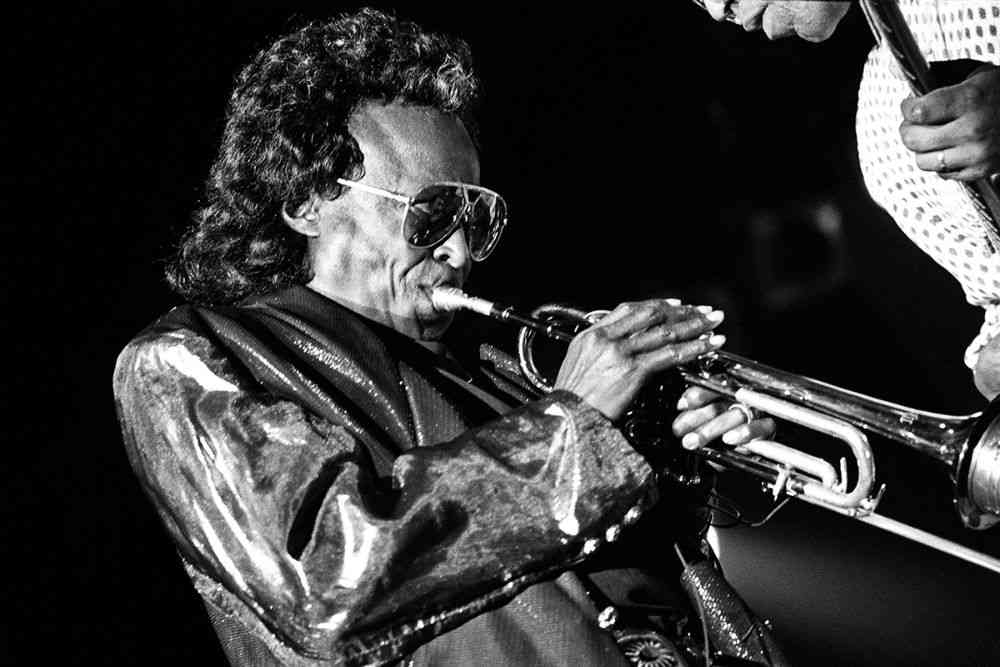 Miles Davis, 1990. Photos courtesy: Farrokh Chothia/PHOTOINK.