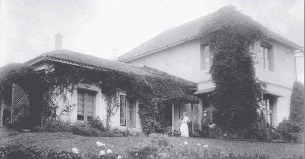 Ivy Cottage, Robert Foote's retirement home in Yercaud, Tamil Nadu.