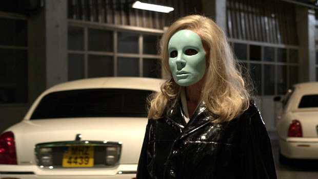 Edith Scob in 'Holy Motors'.