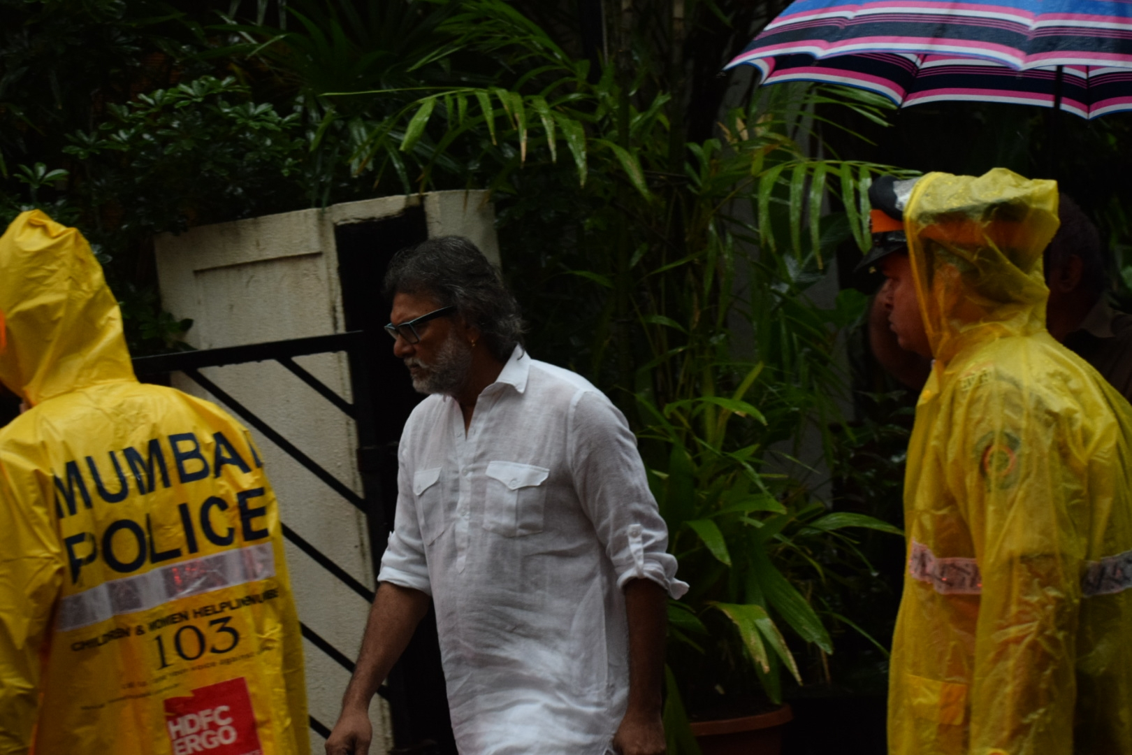 Filmmaker Rakeysh Omprakash Mehra at the state funeral. (Image credit: IANS)