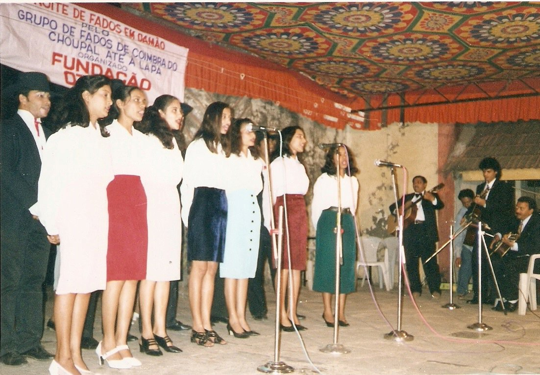 A night of Fado in Daman, organised by the Goa-based Fundacao Oriente, in 2000. Photo credit: Daman/via Facebook.com