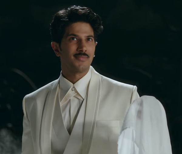 Dulquer Salmaan as Gemini Ganesan in Mahanati. Image credit: Vyjayanthi Movies.