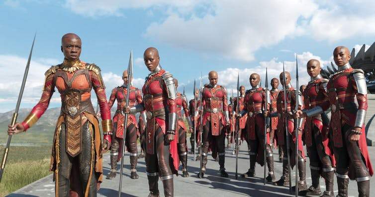 A celebration of ancestral themes. Photo credit: Marvel Studios.