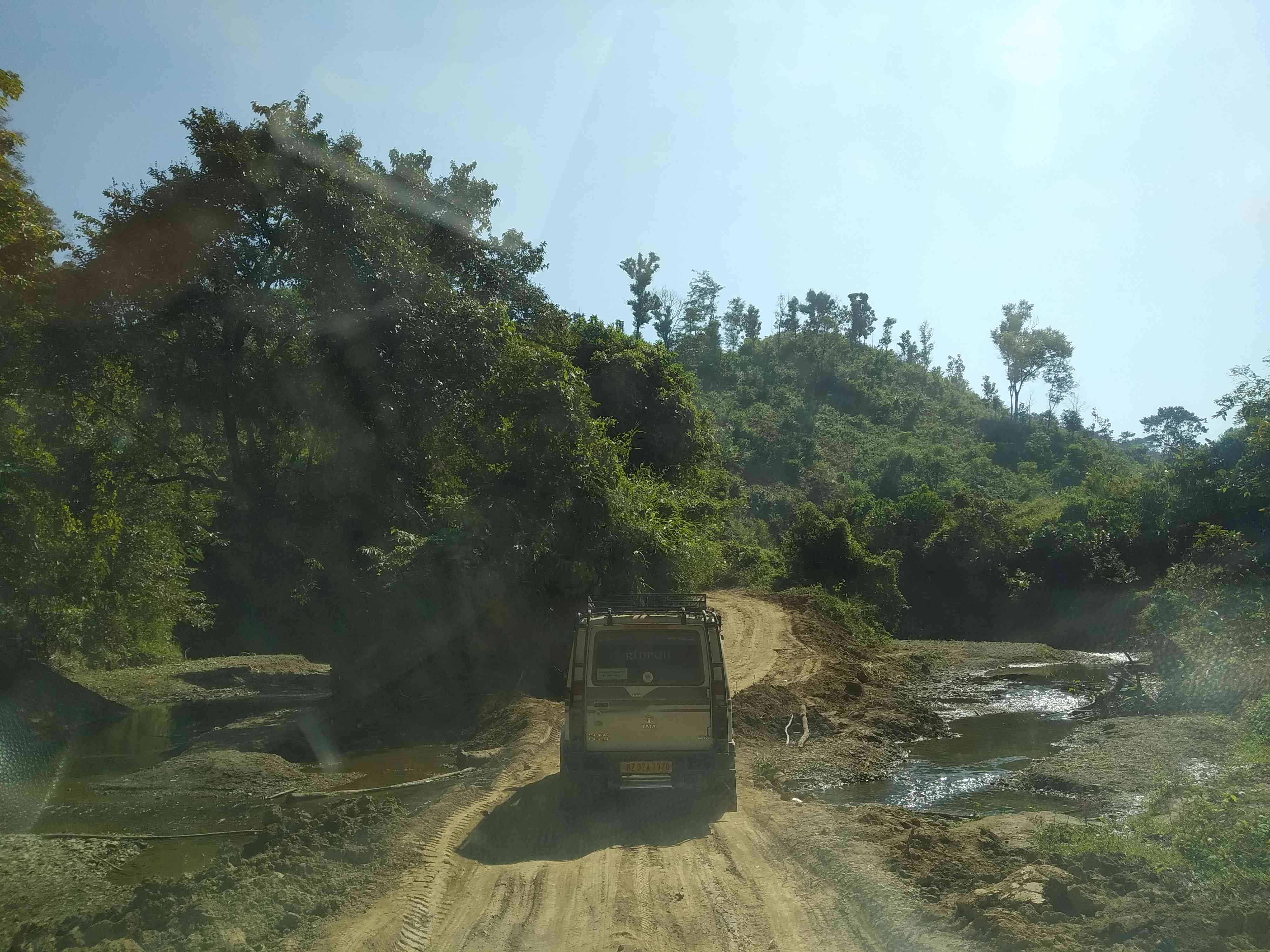 The main road connecting Kamalanagar to other villages in the council is mkotorable only in the winter months.