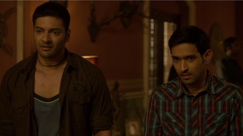 Ali Fazal (left) and Vikrant Massey in Mirzapur. Courtesy Excel Entertainment/Amazon Prime Video.