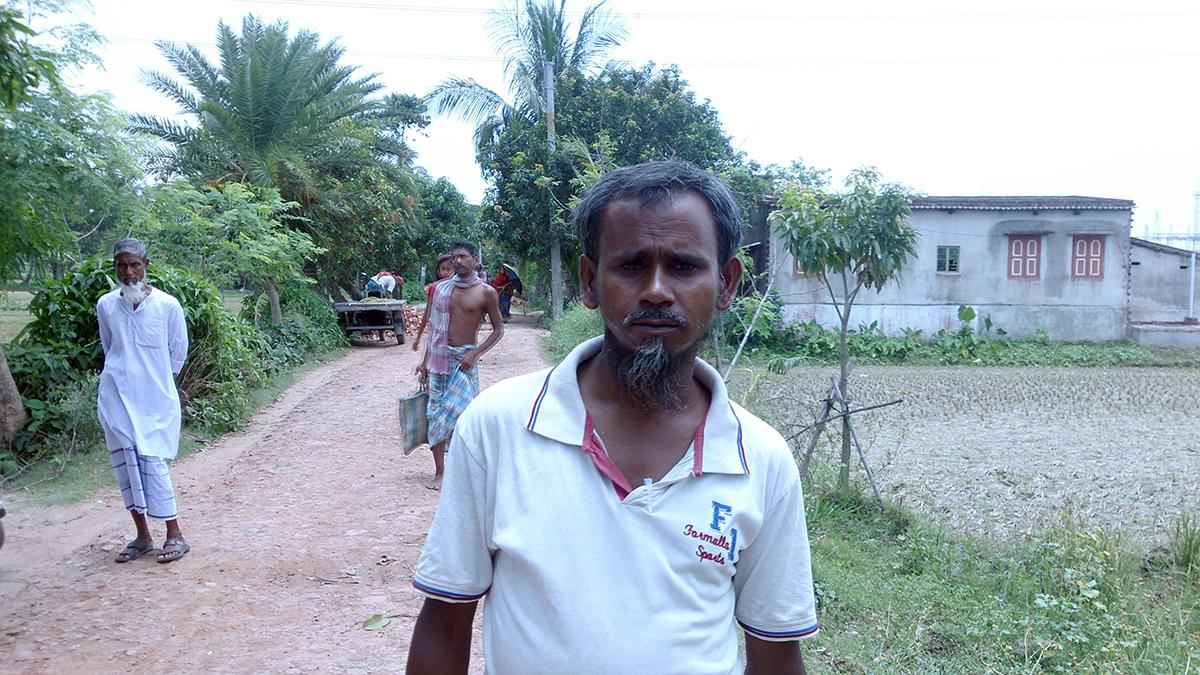 Polling agent Abdul Rahimul.