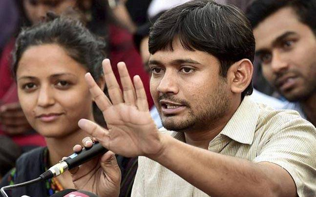 Kanhaiya Kumar has cases filed against him in different cities. Image credit: Press Trust of India