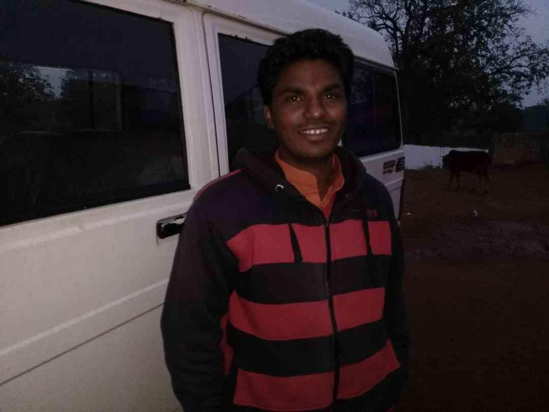 Sarpanch of Palnar Sukalu Mudami. Photo credit: Malini Subramaniam