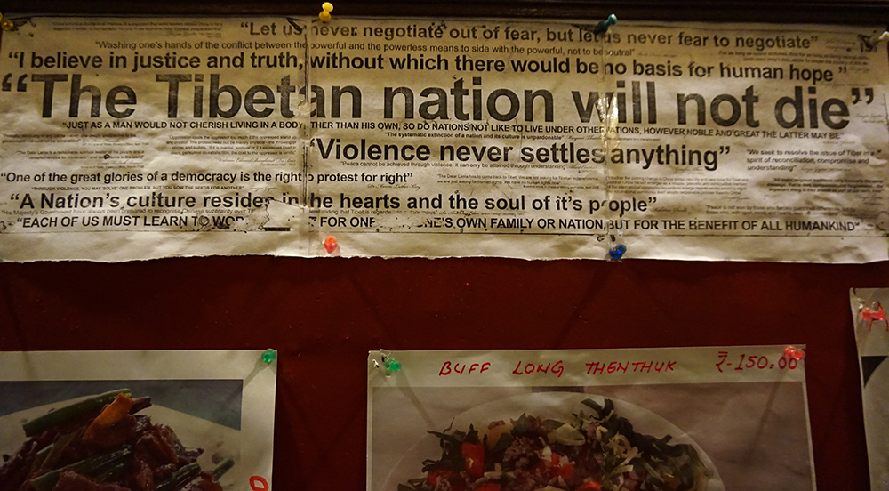 Tibetans says the Chinese government is destroying their culture in Tibet, in an attempt to assimilate the Tibetan population. Image: Amelia Andrews