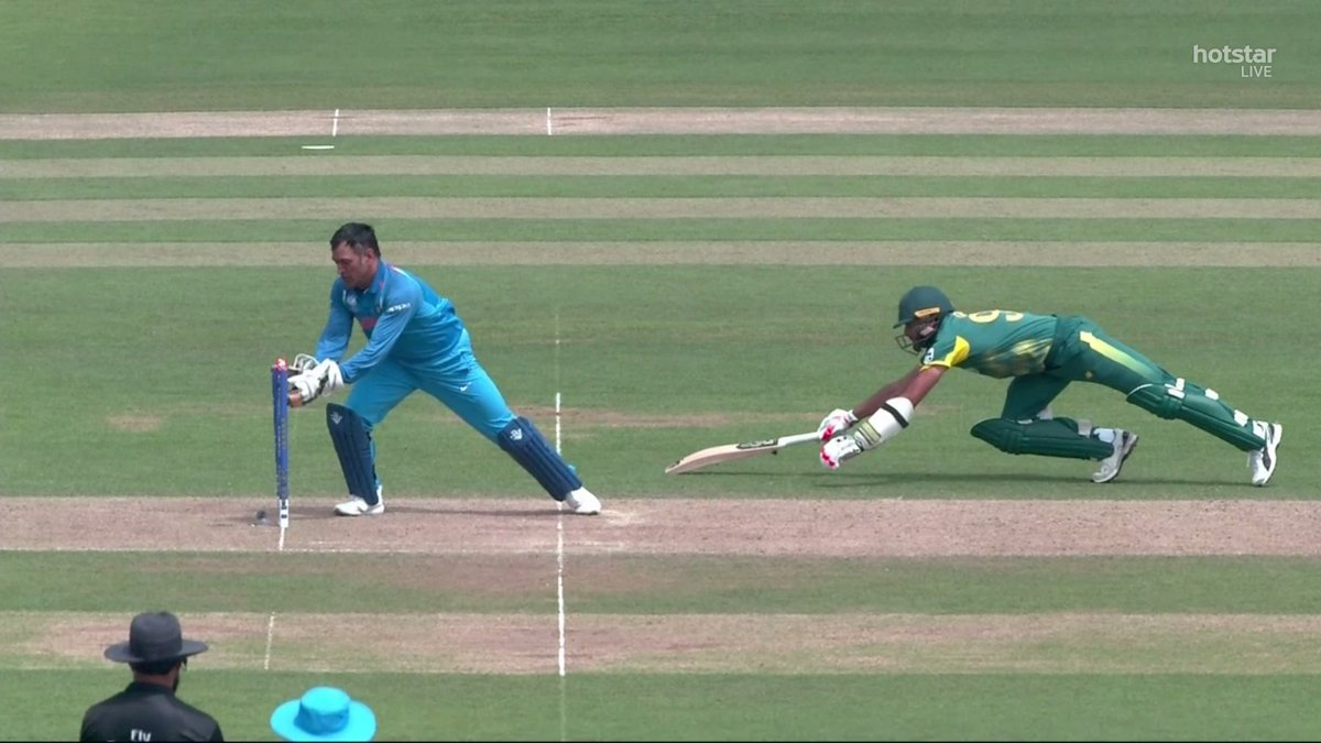South Africa lost three wickets through run-outs on Sunday.