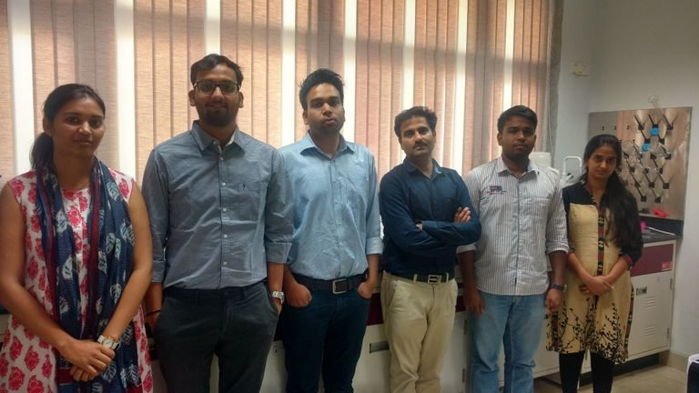 Group photo of IISER-Bhopal team. Sourced from the scientists.