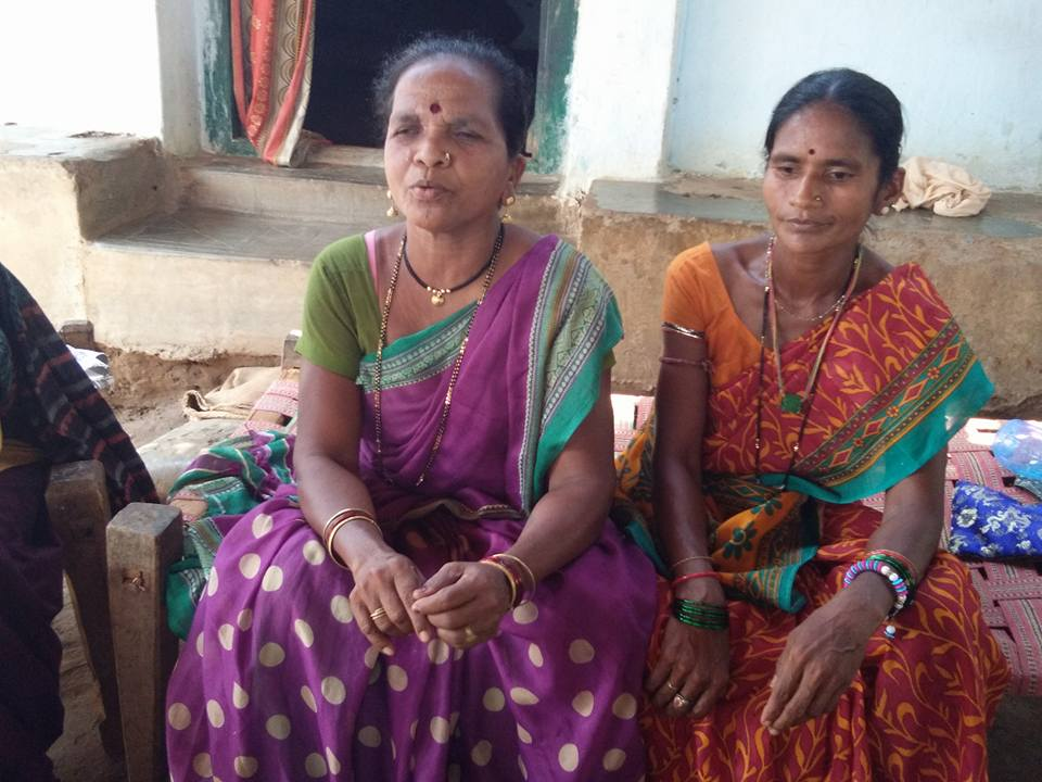 'We are still not sure how many of the people killed were ordinary villagers but we are sure not all of them were Maoists,' says Sheela Gotta, left, former sarpanch of Gatta. Photo credit: Raksha Kumar