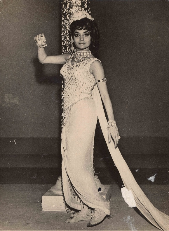 Asha Parekh in a dance sequence in Sajan (1969). Courtesy Asha Parekh The Hit Girl/Om Books International.