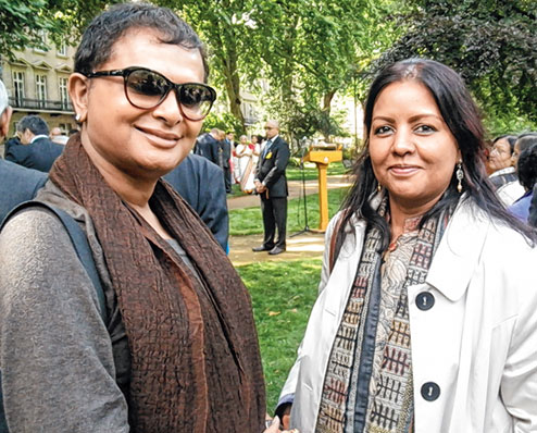 Rituparno Ghosh and Sangeeta Datta. Image courtesy: Sangeeta Datta.