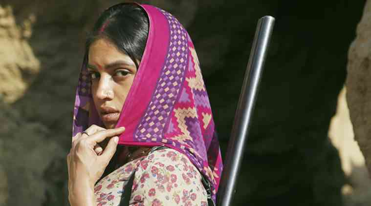 Bhumi Pednekar in Sonchiriya. Courtesy RSVP Movies.