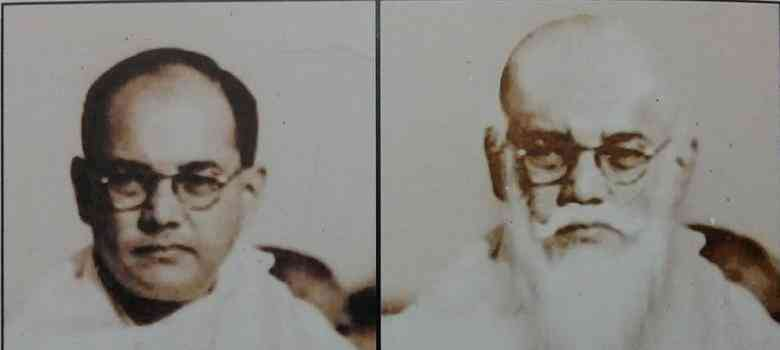 The visual on the right, which is being circulated as that of Gumnami Baba, is a computer-generated extrapolation by an illustrator working with a newspaper of what Bose would have looked like had he grown old and sported a beard. He used the photo of Netaji on the left as the base.