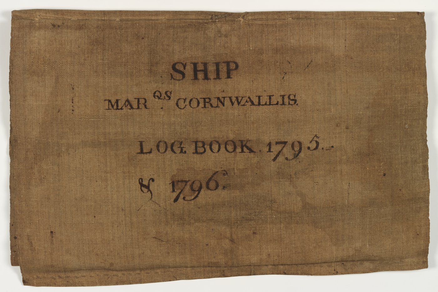 Ship's log that was auctioned recently. Photo credit: NSW Government