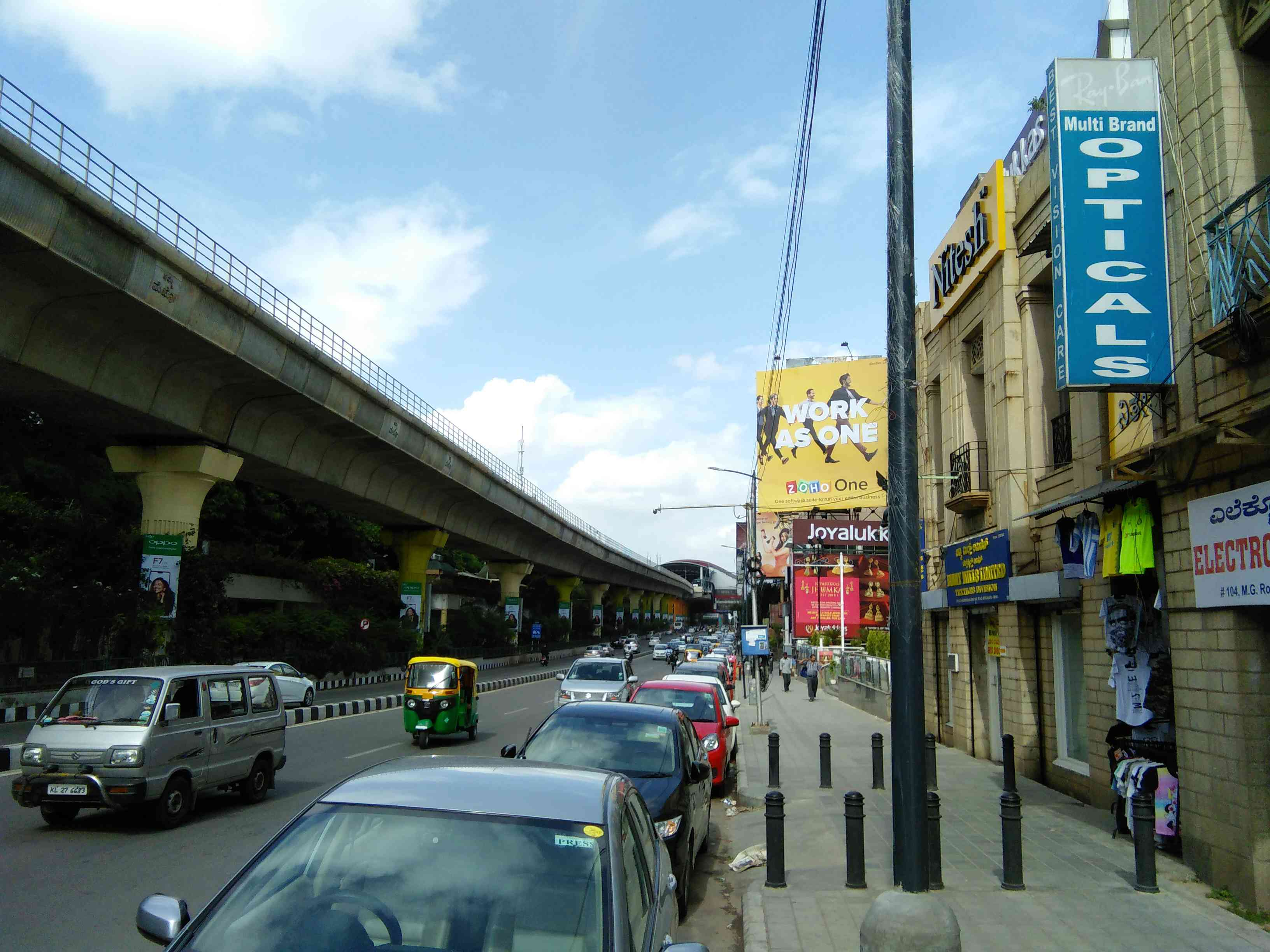 MG Road, June 2018