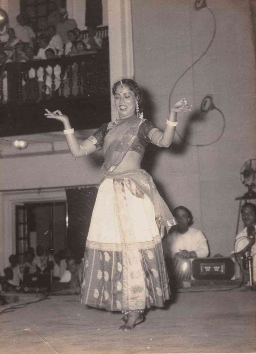 A glimpse of Sitara Devi's iconic 'Mor' (peacock) and 'Holi' themes that she created and become synonymous with. Photo courtesy: The Barot family archives.