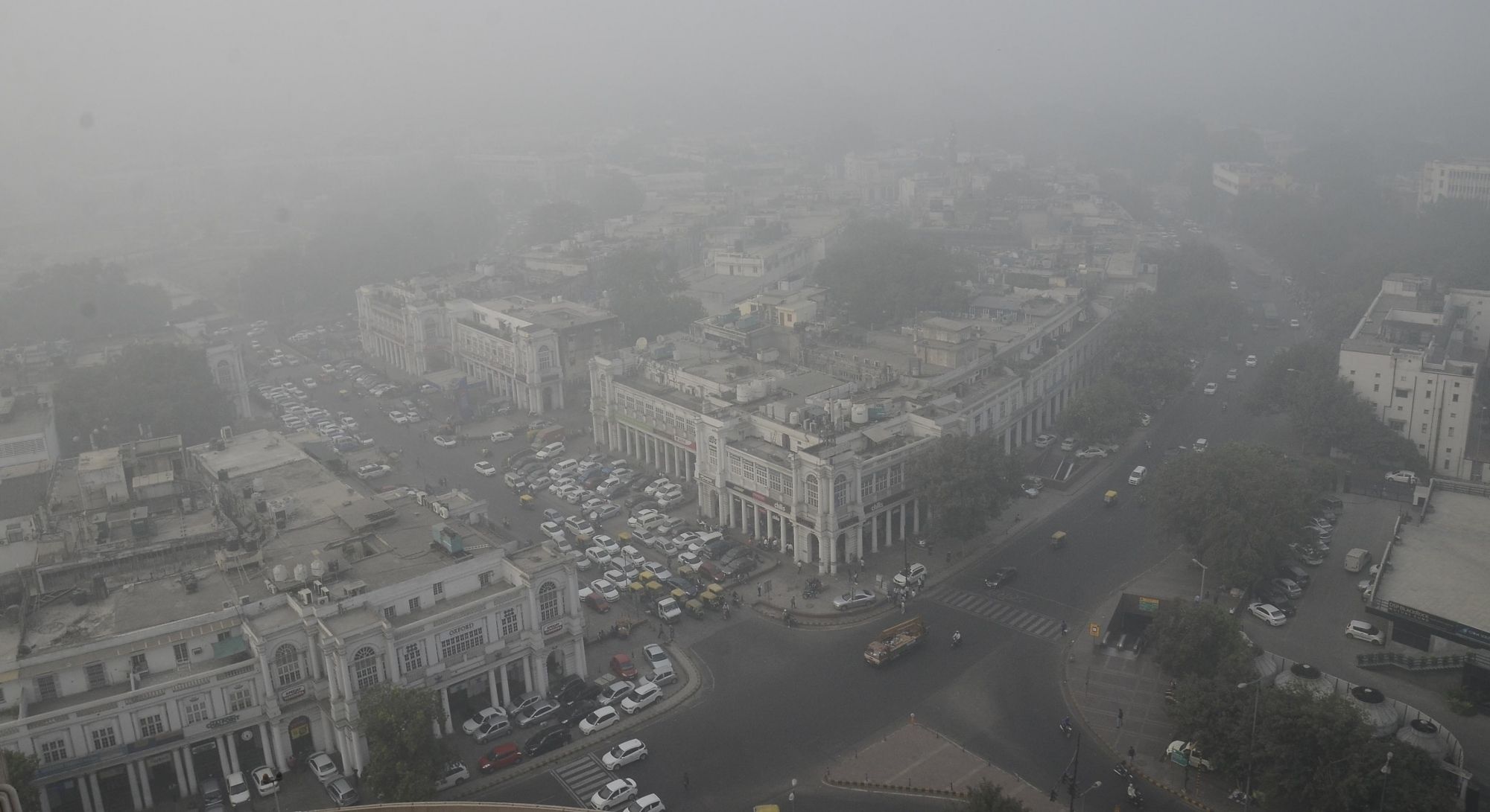Delhi remains under a dense smog cover for a large part of the year, with the winter months particularly bad. (Credit: IANS)