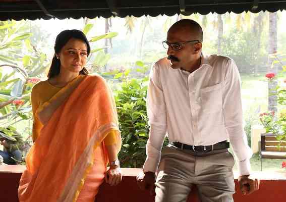 Amala Akkineni and Kishore in High Priestess. Courtesy Zee5.