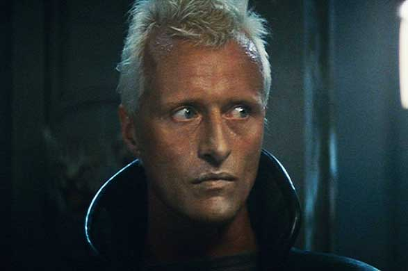 Rutger Hauer in Blade Runner (1982). Image credit: Rutger Hauer official website.