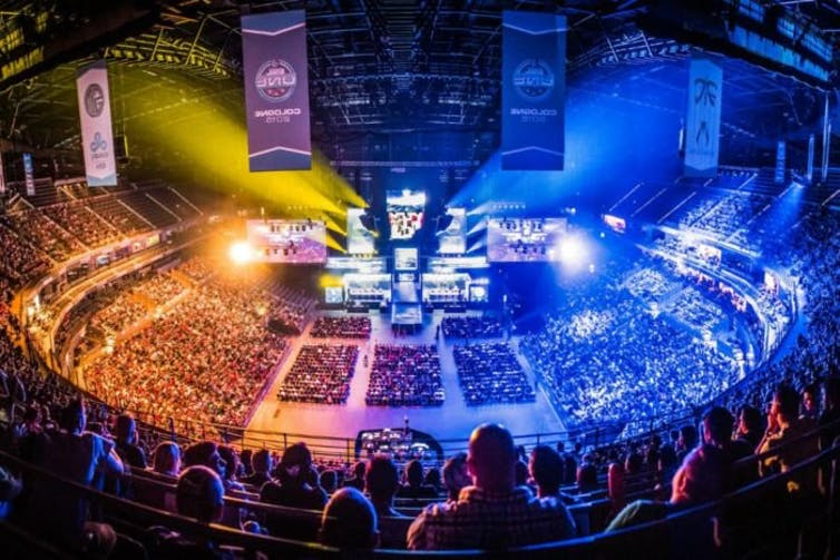 eSports events regularly draw sellout crowds like major professional sports leagues.(Ubisoft)