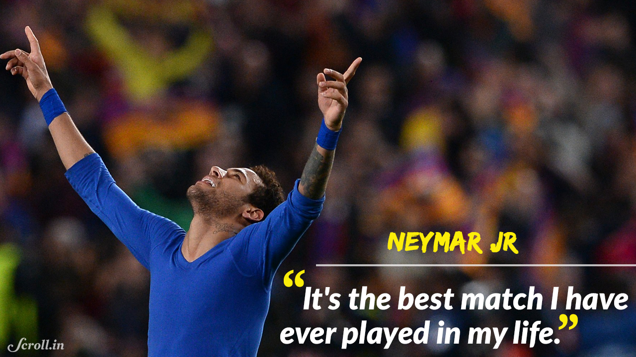 Neymar Jr Quotes From Pique's Babyboom Prediction To Psg's 'nightmare' The Best