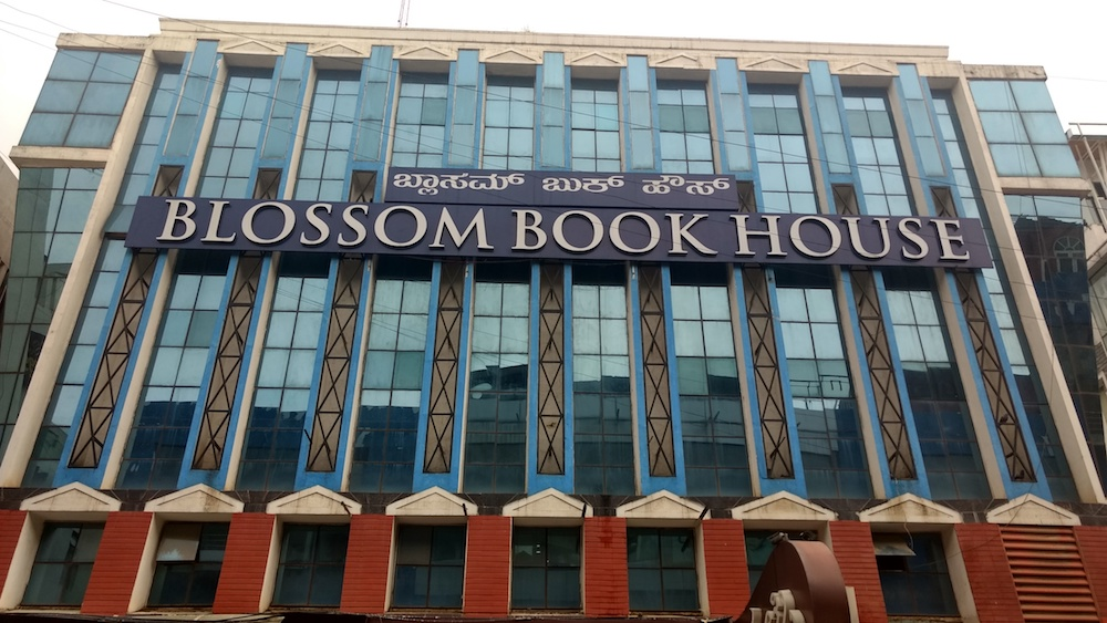 What three second-hand bookshops on the same street say