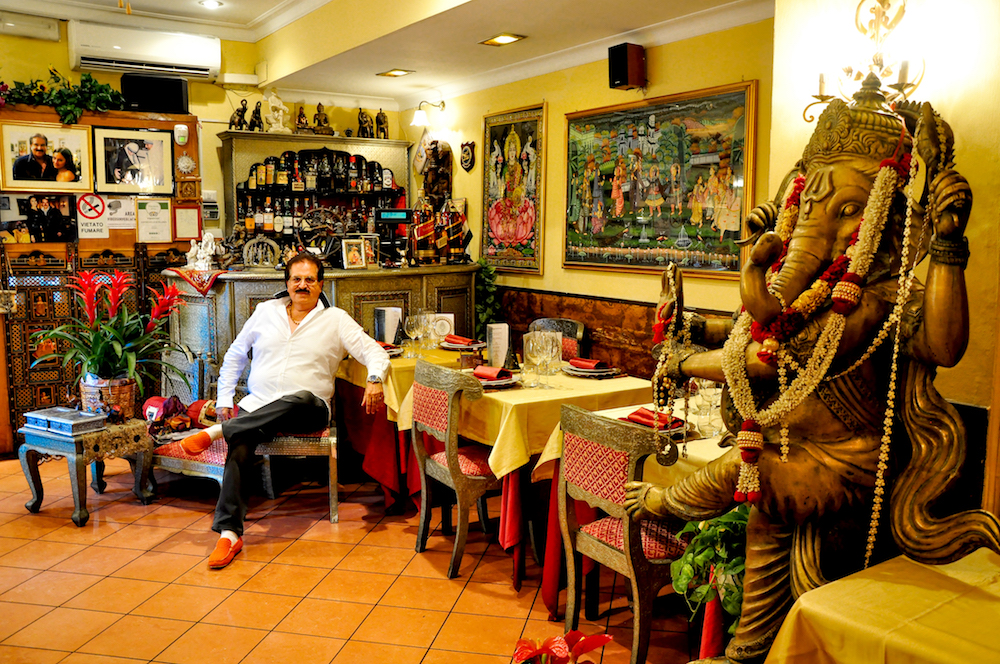 'Curry king' Micky Sehgal arrived in Italy in June 1980 with $500 in his pocket. Today, Sehgal owns three of Rome's most famous Indian restaurants by the name 'Maharajah' and has an annual turnover of over €1.5 million. Sehgal's first home was 65 square metres but now he lives in a 1600 square metre villa. Maharajah's clientele includes Anthony Hopkins, Tom Cruise, Clint Eastwood, Sachin Tendulkar, Shahrukh Khan, Aishwarya Rai and Rajnikant. Photo: Kounteya Sinha/Italy