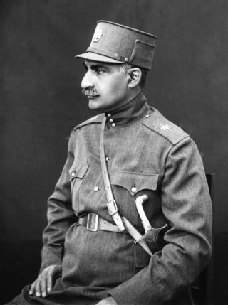 Reza Shah Pahlavi, Shah of Iran (1925-1941). Photo credit: Antoin Sevruguin/Wikimedia Commons [Licensed under Creative Commons]