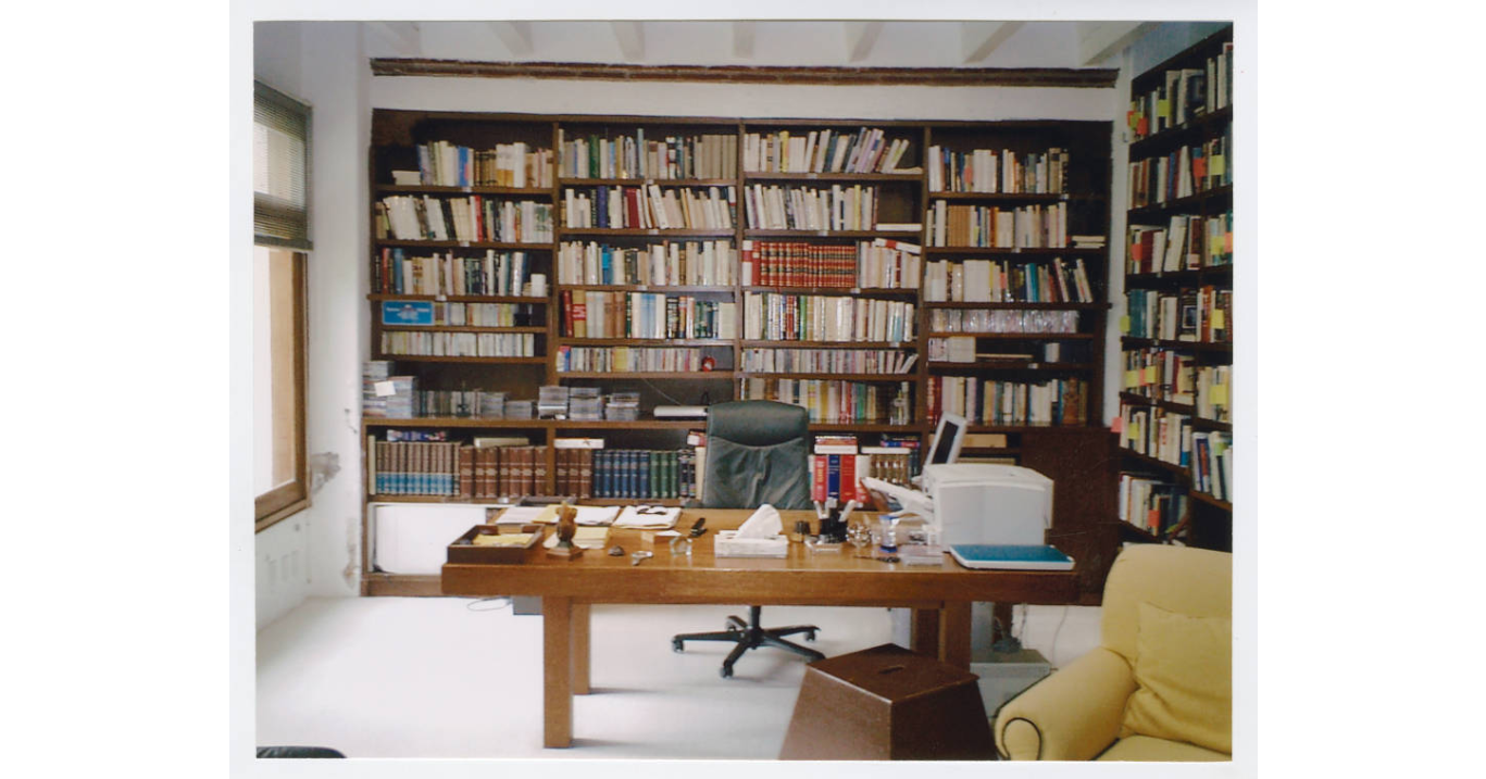 Office of Gabriel García Márquez, undated (Harry Ransom Center at The University of Texas, Austin)