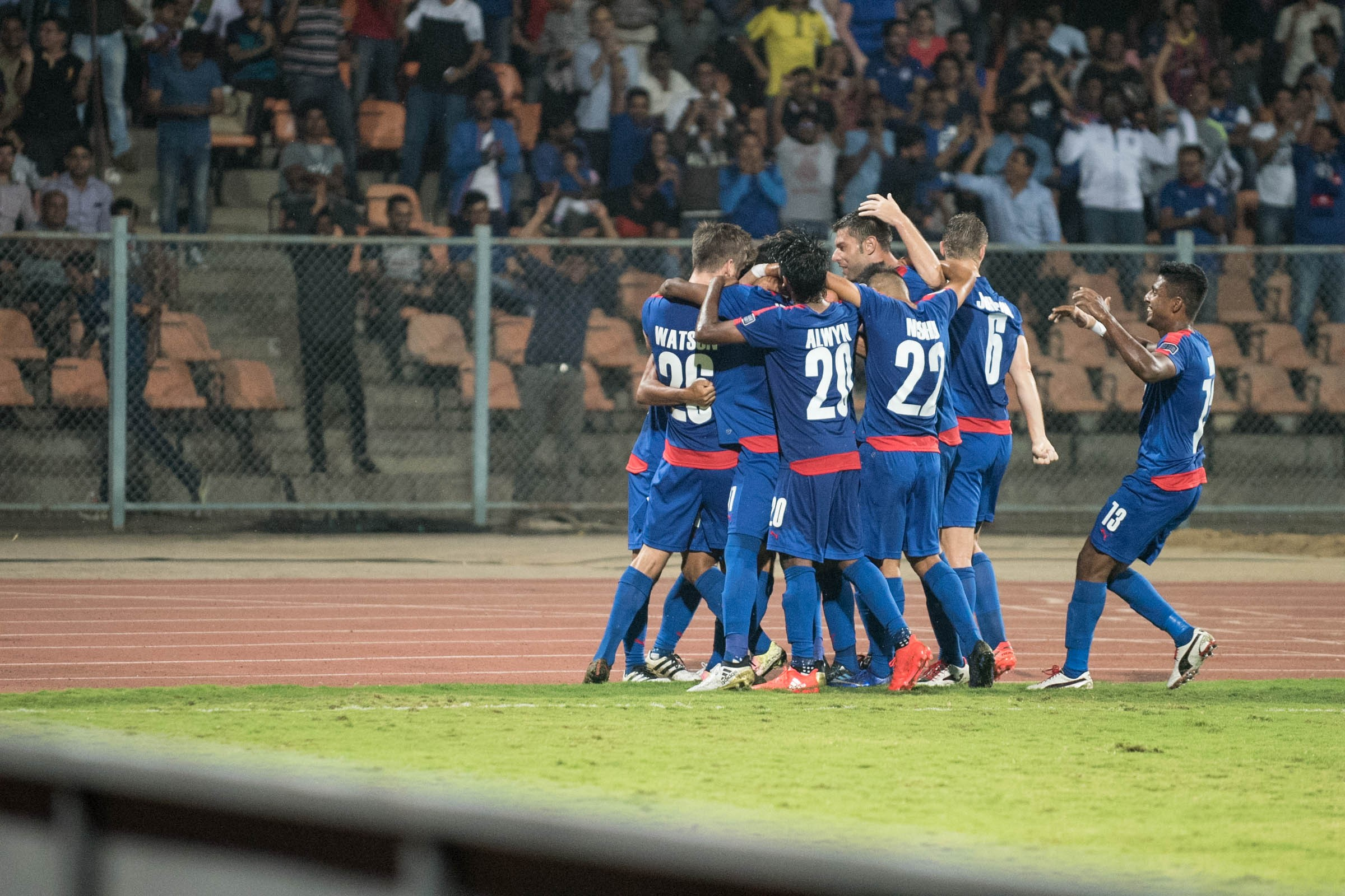 Bengaluru FC made history by reaching the AFC Cup final (Image credit: Bengaluru FC media)