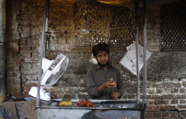 According to a 2014 study, 61% of Delhi residents are meat-eaters. Image credit: Reuters
