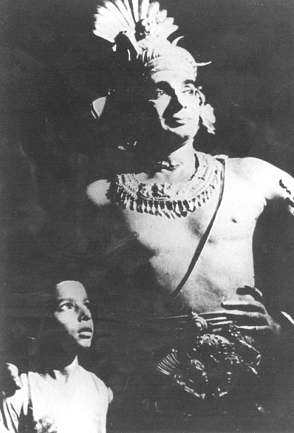 Ananda Shankar with his father, Uday Shankar. Courtesy Tanusree Shankar.
