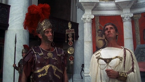 Jon Cleese and Michael Palin in Monty Python's Life of Brian. Courtesy HandMade Films.