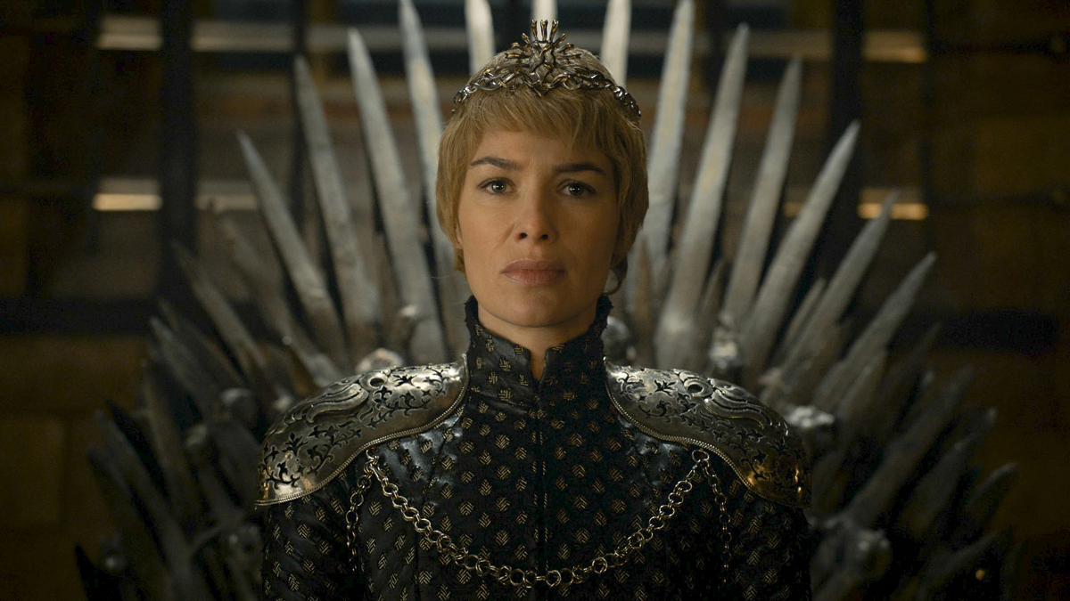 Cersei Lannister (Lena Headey) in Game of Thrones. Courtesy HBO.