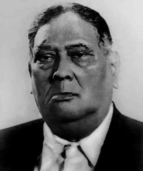 AK Fazlul Huq, the first prime minister of Bengal. He was from the Krishak Praja Party. Credit: Creative Commons