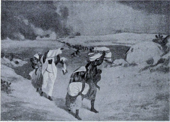 'Delhi after sack of Timur Lang, 1398'. Credit: Wikimedia Commons