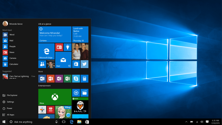 Windows 10 restored the Start button, to many users' delight. Microsoft