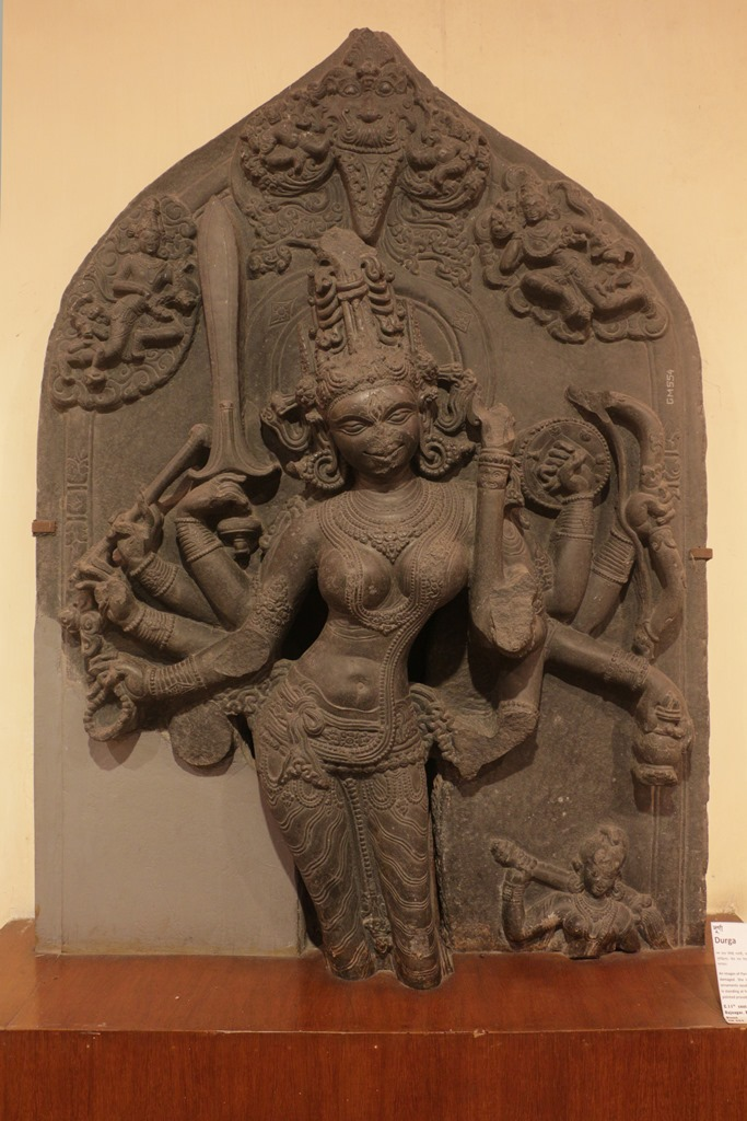 Durga or Parvati. 11th century. Rajnagar, Birbhum. Photo credit: Shrutakirti Dutta