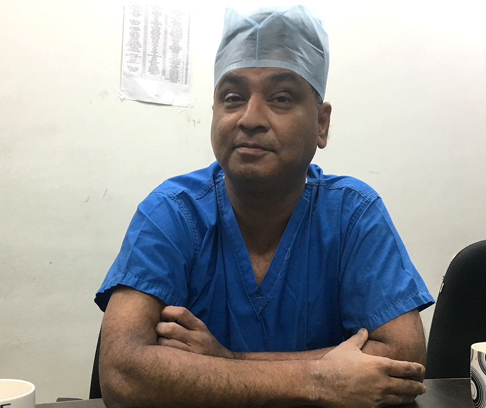 Dr Shailesh Puntambekar, medical director of Galaxy Care Hospital in Pune.