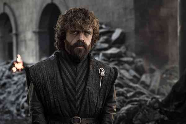Tyrion Lannister (Peter Dinklage) in Game of Thrones. Courtesy of HBO.